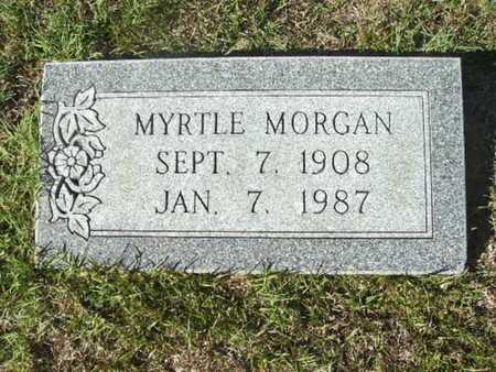 MORGAN, MYRTLE - Ouachita County, Arkansas | MYRTLE MORGAN - Arkansas Gravestone Photos
