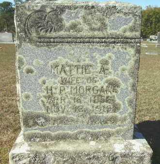 MORGAN, MATTIE A - Ouachita County, Arkansas | MATTIE A MORGAN - Arkansas Gravestone Photos