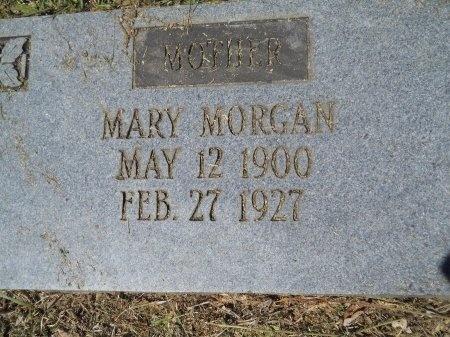 MORGAN, MARY JANE (CLOSE UP) - Ouachita County, Arkansas   MARY JANE (CLOSE UP) MORGAN - Arkansas Gravestone Photos