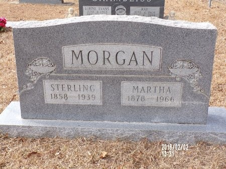 MORGAN, MARTHA CAROLINE - Ouachita County, Arkansas | MARTHA CAROLINE MORGAN - Arkansas Gravestone Photos