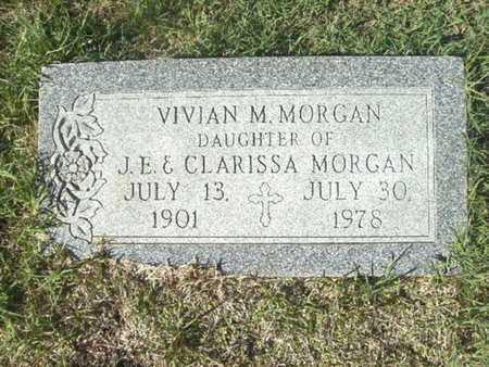 MORGAN, VIVIAN M - Ouachita County, Arkansas | VIVIAN M MORGAN - Arkansas Gravestone Photos