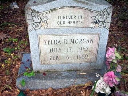 MORGAN, ZELDA D - Ouachita County, Arkansas | ZELDA D MORGAN - Arkansas Gravestone Photos