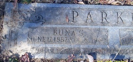 GANNAWAY PARKER, BUNA VISTA - Ouachita County, Arkansas | BUNA VISTA GANNAWAY PARKER - Arkansas Gravestone Photos