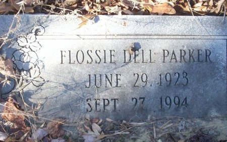 PARKER, FLOSSIE DELL - Ouachita County, Arkansas   FLOSSIE DELL PARKER - Arkansas Gravestone Photos
