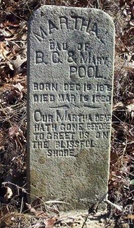 POOL, MARTHA L - Ouachita County, Arkansas | MARTHA L POOL - Arkansas Gravestone Photos