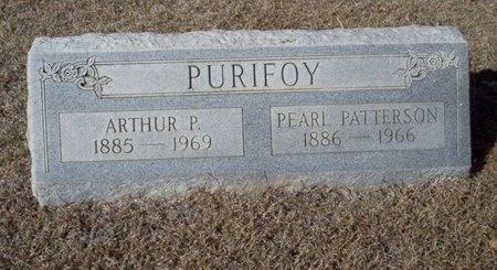 PURIFOY, ARTHUR P - Ouachita County, Arkansas | ARTHUR P PURIFOY - Arkansas Gravestone Photos