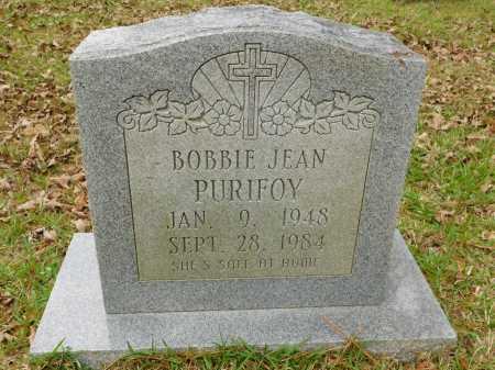 PURIFOY, BOBBIE JEAN - Ouachita County, Arkansas | BOBBIE JEAN PURIFOY - Arkansas Gravestone Photos