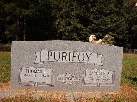 PURIFOY, CAROLYN A - Ouachita County, Arkansas | CAROLYN A PURIFOY - Arkansas Gravestone Photos
