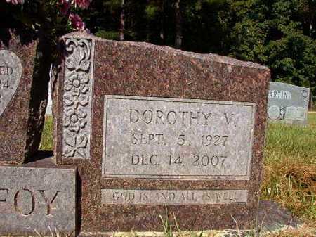PURIFOY, DOROTHY V - Ouachita County, Arkansas | DOROTHY V PURIFOY - Arkansas Gravestone Photos
