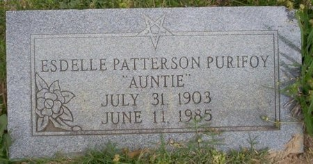 PATTERSON PURIFOY, ESDELLE - Ouachita County, Arkansas | ESDELLE PATTERSON PURIFOY - Arkansas Gravestone Photos