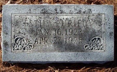 PURIFOY, ESTUS - Ouachita County, Arkansas   ESTUS PURIFOY - Arkansas Gravestone Photos
