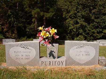 PURIFOY, FLOYD EALUM - Ouachita County, Arkansas | FLOYD EALUM PURIFOY - Arkansas Gravestone Photos