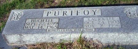 PURIFOY, HUGH LEE - Ouachita County, Arkansas | HUGH LEE PURIFOY - Arkansas Gravestone Photos