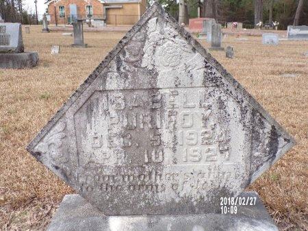 PURIFOY, ISABELL - Ouachita County, Arkansas   ISABELL PURIFOY - Arkansas Gravestone Photos