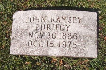 PURIFOY, JOHN RAMSEY - Ouachita County, Arkansas | JOHN RAMSEY PURIFOY - Arkansas Gravestone Photos