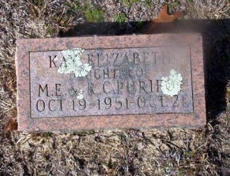 PURIFOY, KAY ELIZABETH - Ouachita County, Arkansas   KAY ELIZABETH PURIFOY - Arkansas Gravestone Photos