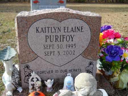 PURIFOY, KAITLYN ELAINE - Ouachita County, Arkansas | KAITLYN ELAINE PURIFOY - Arkansas Gravestone Photos