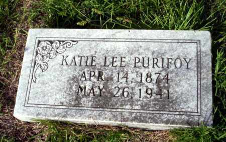 PURIFOY, KATIE - Ouachita County, Arkansas | KATIE PURIFOY - Arkansas Gravestone Photos