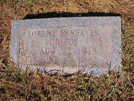 PURIFOY, LORENE - Ouachita County, Arkansas   LORENE PURIFOY - Arkansas Gravestone Photos