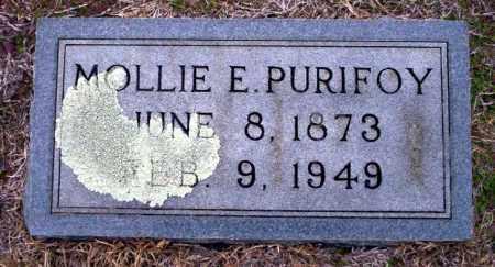 "PURIFOY, MARY EMMA BELLE ""MOLLIE"" - Ouachita County, Arkansas | MARY EMMA BELLE ""MOLLIE"" PURIFOY - Arkansas Gravestone Photos"