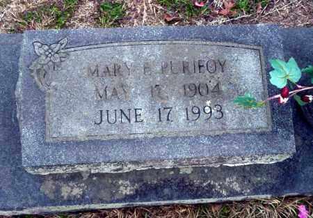 PURIFOY, MARY EMILY - Ouachita County, Arkansas | MARY EMILY PURIFOY - Arkansas Gravestone Photos