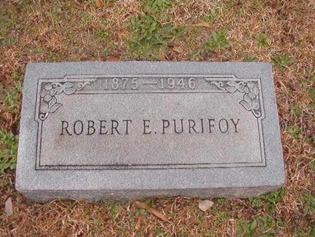 PURIFOY, ROBERT EPPERSON - Ouachita County, Arkansas   ROBERT EPPERSON PURIFOY - Arkansas Gravestone Photos