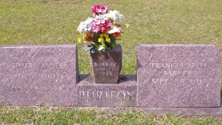 PURIFOY, FRANCES BELLE - Ouachita County, Arkansas | FRANCES BELLE PURIFOY - Arkansas Gravestone Photos