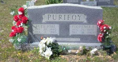 PURIFOY, RUTH JOBE - Ouachita County, Arkansas | RUTH JOBE PURIFOY - Arkansas Gravestone Photos