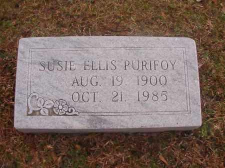 PURIFOY, SUSIE EMMA - Ouachita County, Arkansas | SUSIE EMMA PURIFOY - Arkansas Gravestone Photos