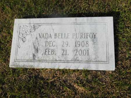 PURIFOY, VADA BELLE - Ouachita County, Arkansas | VADA BELLE PURIFOY - Arkansas Gravestone Photos