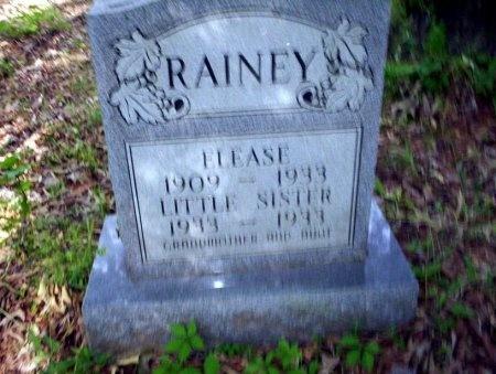 RAINEY, LITTLE SISTER - Ouachita County, Arkansas   LITTLE SISTER RAINEY - Arkansas Gravestone Photos