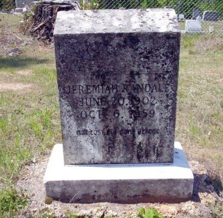 RANDALL, JEREMIAH - Ouachita County, Arkansas   JEREMIAH RANDALL - Arkansas Gravestone Photos