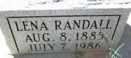 RANDALL, LENA - Ouachita County, Arkansas | LENA RANDALL - Arkansas Gravestone Photos