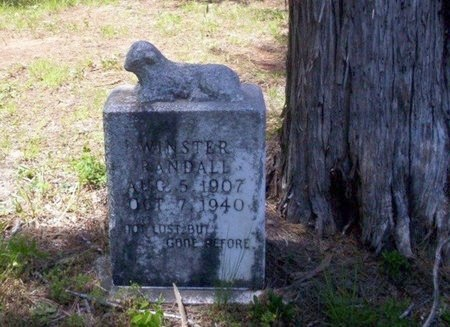 RANDALL, WINSTER - Ouachita County, Arkansas | WINSTER RANDALL - Arkansas Gravestone Photos