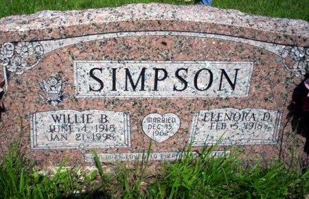 SIMPSON, ELENORA D - Ouachita County, Arkansas | ELENORA D SIMPSON - Arkansas Gravestone Photos