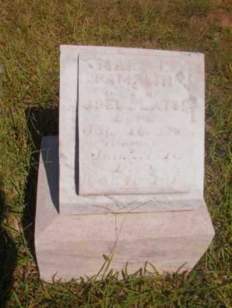 PAMPLIN SLATON, MARY - Ouachita County, Arkansas | MARY PAMPLIN SLATON - Arkansas Gravestone Photos