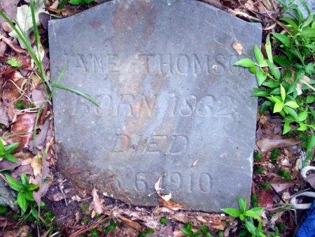 THOMSON, JANE - Ouachita County, Arkansas | JANE THOMSON - Arkansas Gravestone Photos