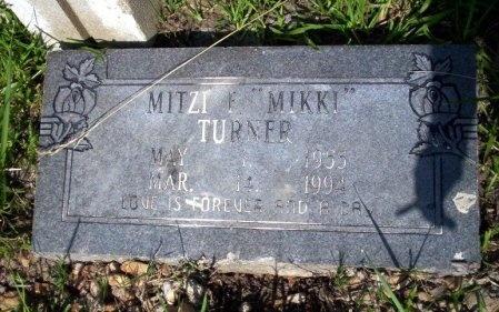 "TURNER, MITZI F ""MIKKI"" - Ouachita County, Arkansas | MITZI F ""MIKKI"" TURNER - Arkansas Gravestone Photos"