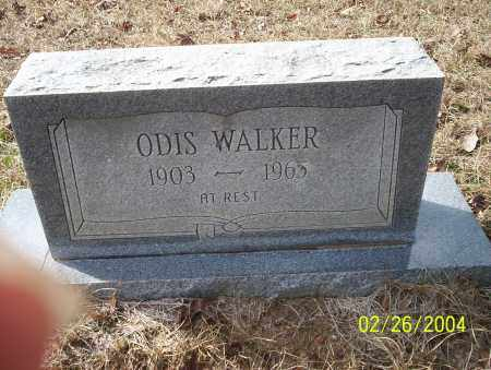 WALKER, ODIS - Ouachita County, Arkansas | ODIS WALKER - Arkansas Gravestone Photos