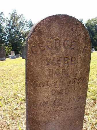 WEBB, GEORGE F - Ouachita County, Arkansas   GEORGE F WEBB - Arkansas Gravestone Photos