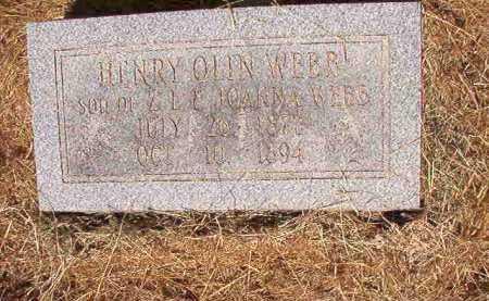 WEBB, HENRY OLIN - Ouachita County, Arkansas | HENRY OLIN WEBB - Arkansas Gravestone Photos