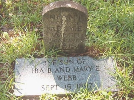 WEBB, INFANT - Ouachita County, Arkansas | INFANT WEBB - Arkansas Gravestone Photos