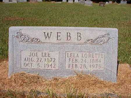 WEBB, LELA LORETTE - Ouachita County, Arkansas | LELA LORETTE WEBB - Arkansas Gravestone Photos