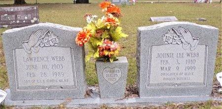 WEBB, JOHNIE LEE - Ouachita County, Arkansas | JOHNIE LEE WEBB - Arkansas Gravestone Photos