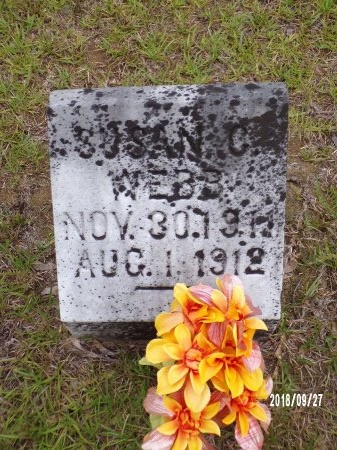 WEBB, SUSAN C - Ouachita County, Arkansas   SUSAN C WEBB - Arkansas Gravestone Photos
