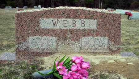 WEBB, WILLIE A - Ouachita County, Arkansas | WILLIE A WEBB - Arkansas Gravestone Photos