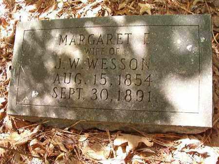 WESSON, MARGARET E - Ouachita County, Arkansas | MARGARET E WESSON - Arkansas Gravestone Photos