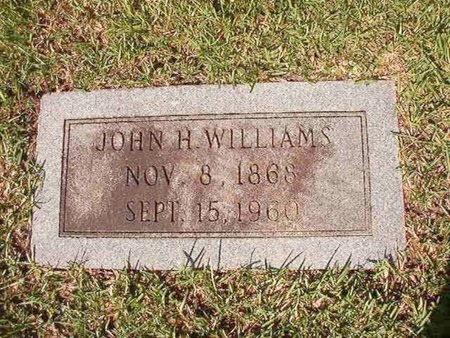 WILLIAMS, JOHN H - Ouachita County, Arkansas | JOHN H WILLIAMS - Arkansas Gravestone Photos