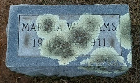 WILLIAMS, MARTHA - Ouachita County, Arkansas | MARTHA WILLIAMS - Arkansas Gravestone Photos