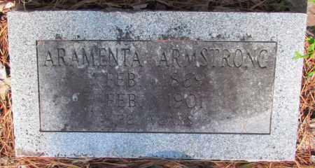 ARMSTRONG, ARAMENTA - Perry County, Arkansas | ARAMENTA ARMSTRONG - Arkansas Gravestone Photos
